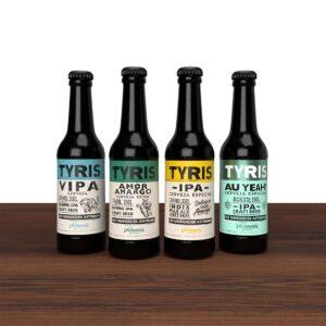Cerveza Tyris Pack IPAS