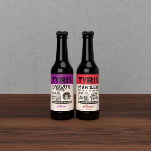 Cerveza Tyris Pack Tostadas