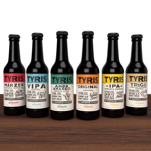 Cerveza Tyris Pack Tyris