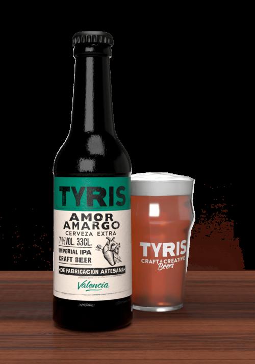 Cerveza Tyris Amor Amargo