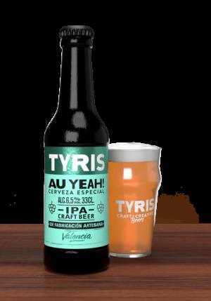 Cerveza Tyris Au Yeah